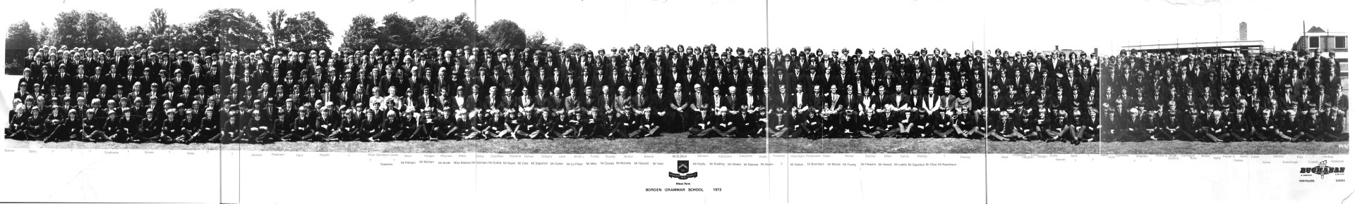 BGS School Photo 1973 Large
